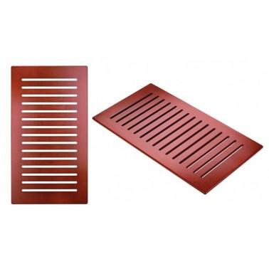 Tarima en color wengué de 965x535 mm para plato de ducha Strado 160/170x75 marca Unisan