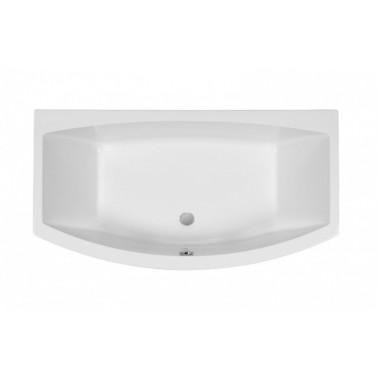 Bañera de 170x90 mm en color blanco modelo Newday marca Unisan