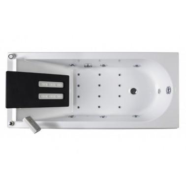 Respaldo dorsal en color negro para bañera modelo Reflex marca Unisan