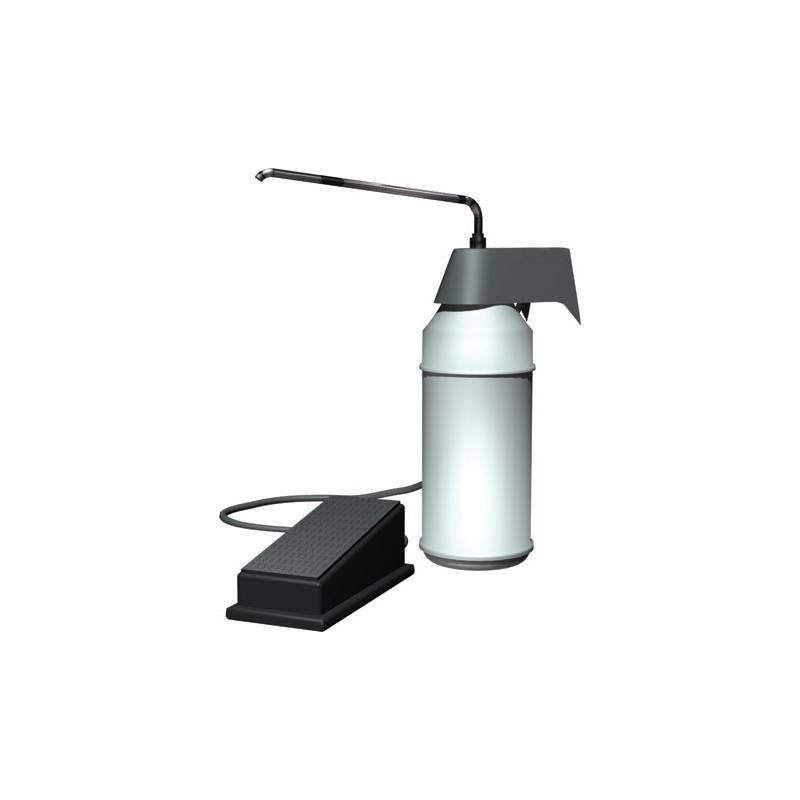 Dispensador de pedal para gel hidroalcoholico y jabón