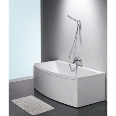 Faldón en color blanco de 70 mm modelo Newday marca Unisan