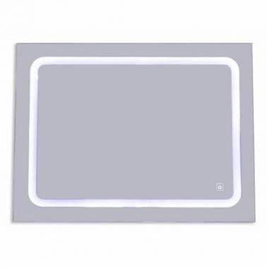 Espejo de baño con luz Led de 60x80 Komercia