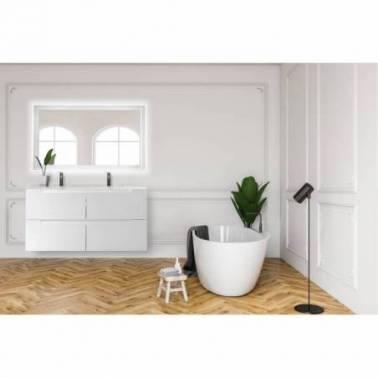 Mueble de baño doble con lavabo