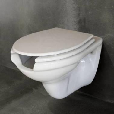 Tapa para inodoro suspendido de discapacitados PMR Valadares