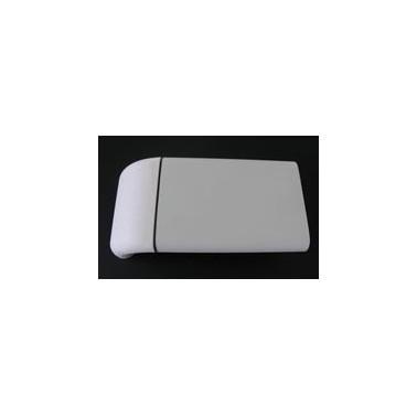 Pasamanos-Paragolpes lineal de aluminio con recubrimiento de pvc