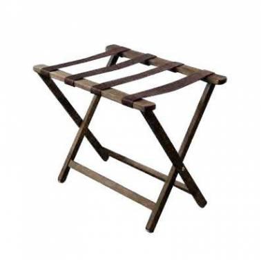Porta maletas de madera marca Komercia