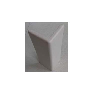 Protector de esquinas de 51X51 mm de aluminio y funda de PVC