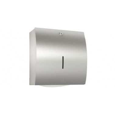 Dispensador de toallas de papel en acero inoxidable acabado satinado modelo STRATOS marca Franke