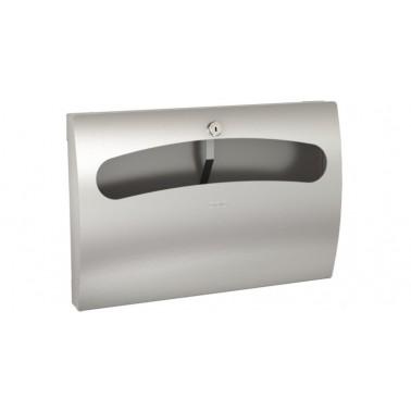 Dispensador de aros higiénicos para asiento de WC en acero inoxidable modelo STRATOS marca Franke