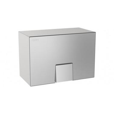 Secamanos electrónico a pared de acero inoxidable acabado satinado modelo RODAN marca Franke