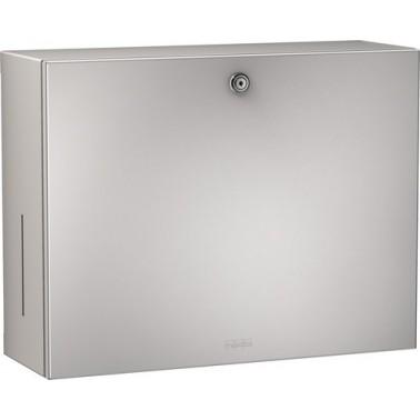 Conjunto de dispensador de toallas y jabón a pared de acero inoxidable modelo RODAN marca Franke