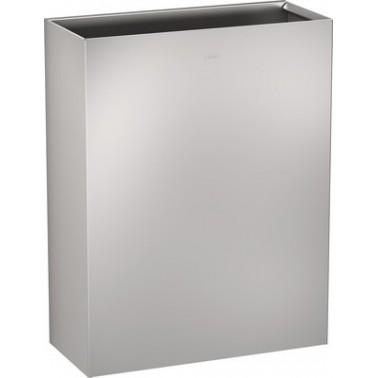 Papelera a pared fabricada en acero inoxidable acabado satinado capacidad 60 L modelo RODAN marca Franke