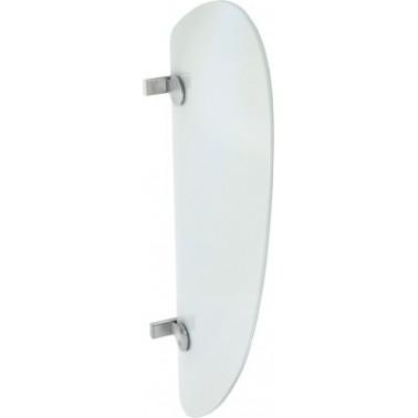 Panel separador de urinarios fabricado en vidrio y acero de cromo-níquel modelo XINOX marca Franke
