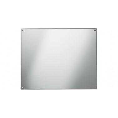 Espejo fabricado en acero inoxidable con superficie pulida reflectante de 400x300mm marca Franke
