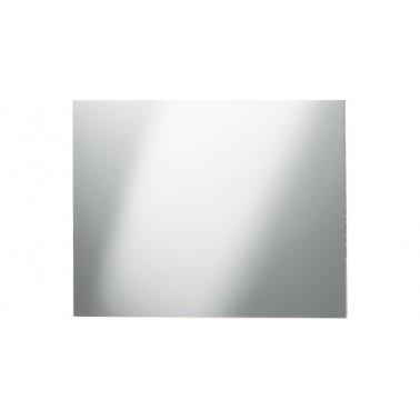Espejo fabricado en acero inoxidable con superficie pulida reflectante de 590x490mm marca Franke