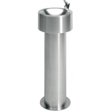 Fuente de agua montaje exento fabricada en acero de cromo-níquel satinado modelo ANIMA marca Franke