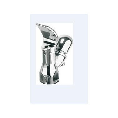 Grifo para fuente de agua con pulsador fabricado en latón cromado modelo ANIMA marca Franke