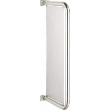 Separador de urinarios fabricado en acero de cromo-níquel acabado satinado marca Franke