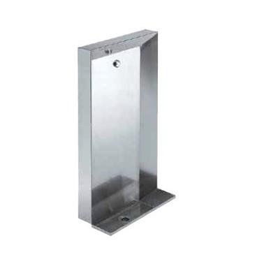 Urinario a pared vertical fabricado en acero inoxidable acabado pulido satinado de 600mm marca Franke