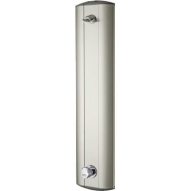 Panel de ducha temporizado fabricado en acero inoxidable modelo AQUALINE marca Franke
