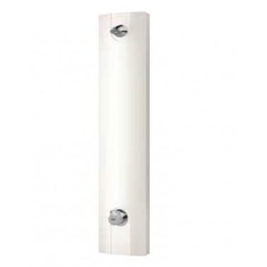 Panel de ducha temporizado mineral con mando mezclador y vaciado automático AQUALINE marca Franke