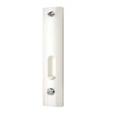 Panel de ducha temporizado en mineral con mando mezclador modelo AQUALINE marca Franke
