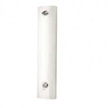 Panel de ducha temporizado con grifo mezclador monomando modelo MIRANIT-S marca Franke