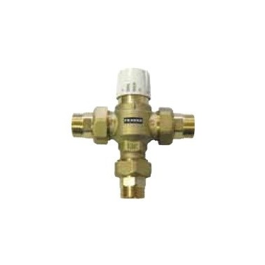 Dispositivo mezclador por termostato DN 25 caudal volumétrico de 84l/min marca Franke