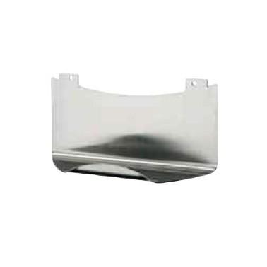 Jabonera para panel de ducha fabricada en acero inoxidable marca Franke