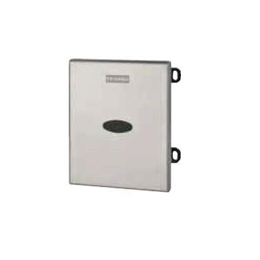 Pulsador de urinario con juego de instalación con funcionamiento a batería modelo FLUSH-C marca Franke