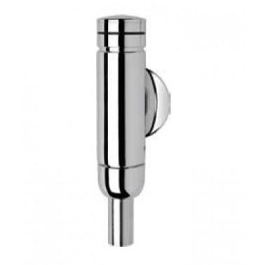 Fluxor para inodoro DN 15 de latón cromado acabado plateado pulido modelo AQUALINE marca Franke