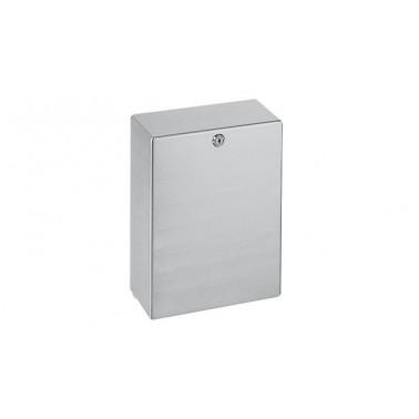 Dispensador de toalla de papel a pared de acero inoxidable acabado satinado modelo HEAVY-DUTY marca Franke