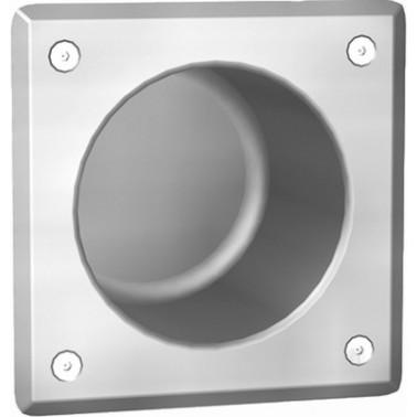Compartimento para guardar los rollos de papel fabricado en acero inoxidable modelo HEAVY-DUTY marca Franke