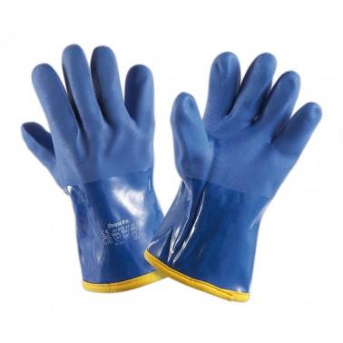 Guantes especiales de PVC para soportar un frío extremo de hasta -20ºC Fricosmos