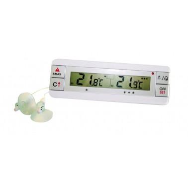 Termómetro digital con doble sonda para el frigorífico o el congelador Fricosmos