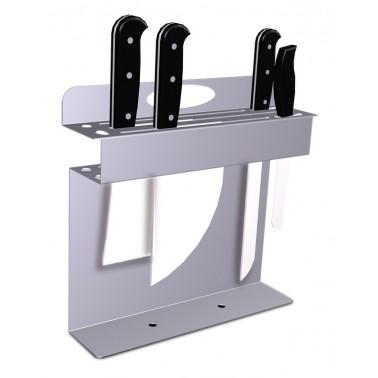 Portacuchillos portátil de acero inoxidable Fricosmos