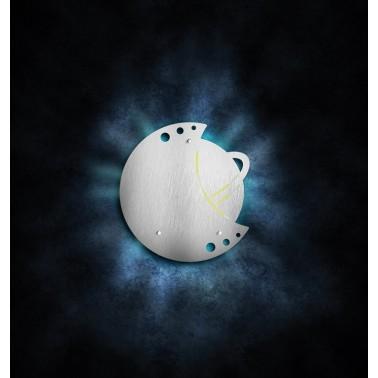 Exterminador de insectos mediante trampa adhesiva modelo Luna Fricosmos