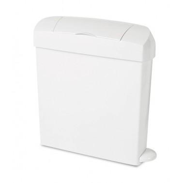 Contenedor higiénico sanitario en ABS con apertura a pedal de 23 litros Fricosmos