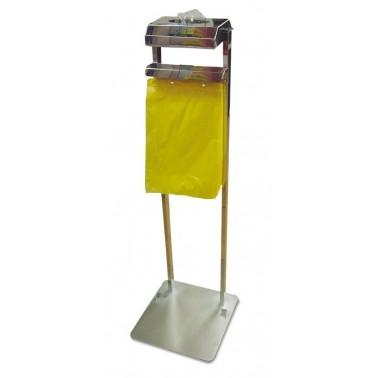 Conjunto de dispensador de bolsas colgantes y guantes Fricosmos