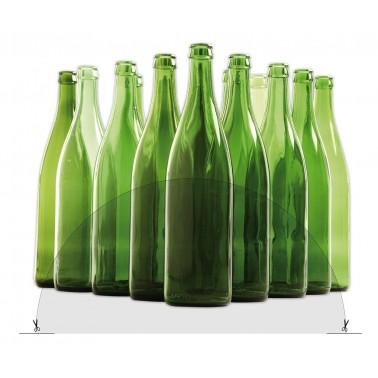 Adhesivo para indicar reciclaje de vidrio Fricosmos