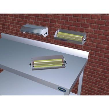 Dispensador de bobinas para envolver de acero inoxidable de 350x165 mm Fricosmos