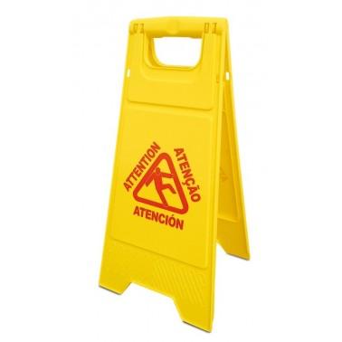 Indicador de precaución aviso suelo mojado Fricosmos
