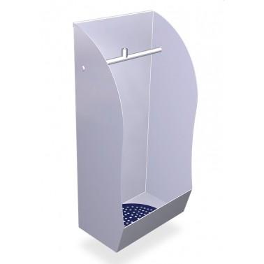 Urinario fabricado en acero inoxidable de 335x217x670 mm Fricosmos