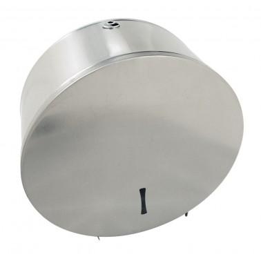 Portarrollos industrial fabricado en acero inoxidable de 265x120x260 mm Fricosmos