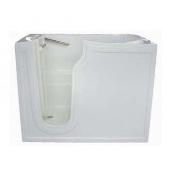 Bañera geriatrica fabricada en fibra de vidrio y acero inoxidable