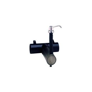 Dosificador de jabón Contura con depósito montado en la encimera con capacidad de 3.4L Bobrick