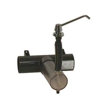 Dispensador de jabón Contura con depósito montado en la encimera con capacidad de 3.4L Bobrick