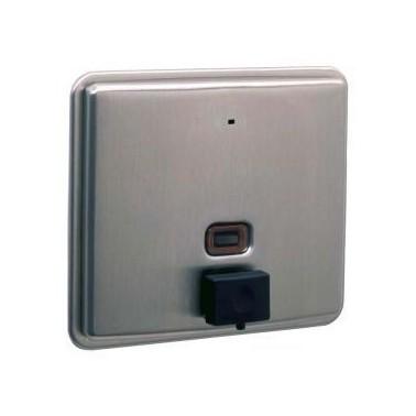Dispensador de jabón Contura Encastrado con capacidad de 1.5L Bobrick