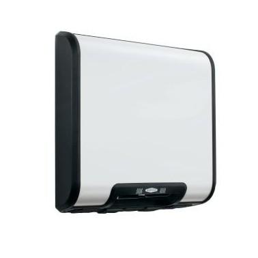 Secador de manos automático de color blanco Bobrick