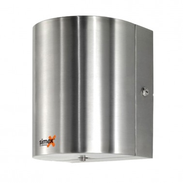 Dispensador de papel mecha en acero inox satinado tipo 1 SIMEX